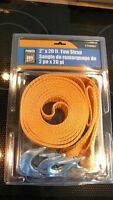 """2"""" x 20 ft. tow strap"""