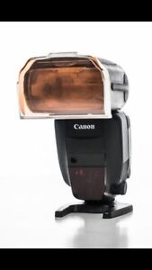 Canon 600 EX-RT 2 flash kit with radio controller