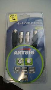 *** REDUCED *** Antsig Quad Shield TV Flylead - 1.5m Ellenbrook Swan Area Preview