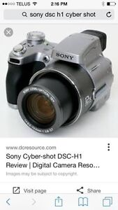 Sony DSC-H1 Digital Camera & Accessories