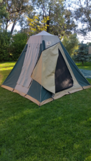 HI COUNTRY 12 x 9 CANVAS HEAVY DUTY FAMILY TENT & tents in Enfield 5085 SA | Camping u0026 Hiking | Gumtree Australia ...