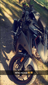 LOOKING TO TRADE 2016 YAMAHA YZF-R3 WITH ONLY 300miles!!