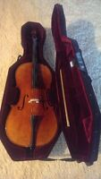 Cello with new case
