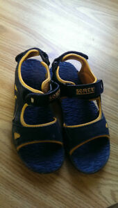Boys Sorel Sandals; Size 4