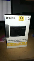 D-LINK AC 750 DUAL BAND ROUTER