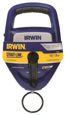 New Irwin Strait-line 1932878 Large Layout Pro Chalk Reel 100 Ft