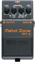 Pédale BOSS METAL ZONE MT-2