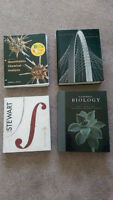 University of Lethbridge Textbooks - Physics, Biology, Calclulus