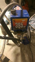 GRACO 395st and Campbell Airless Paint Sprayers