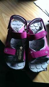Girl's Columbia Mule Sandals - Brand New