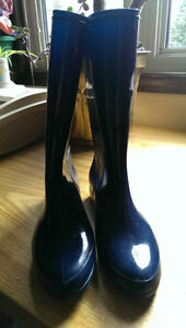 Girls Rubber Boots; size 6 Peterborough Peterborough Area image 2
