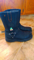 Harley Davidson Steel Toe Safety Boots - New