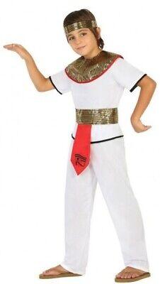 Jungen Mädchen Kleopatra Ägyptisch Karneval Kostüm Kleid Outfit 3-12 Jahre ()