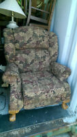 Nice Quality Living Room Recliner Chair With Claw Feet