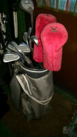 GOLF clubs right handed /Droitier
