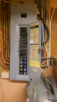 Electrician to install Circuit Breaker Panel