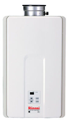 Residential Gas Heater (Rinnai 7.5 GPM Residential Indoor Natural Gas Tankless Water)