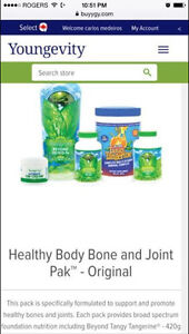 healthy bone and joint support