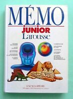 MÉMO   junior  Larousse