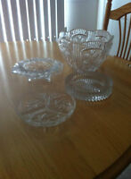 Crystal Candy Dishes, Wine Coaster, Fruit Bowl