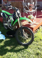 2011 bought in 2013 kawasaki kx 250 Trade for seado