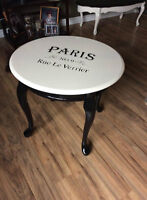 French Provincial side table-Paris Style