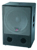 DAS Sub18 Reference Series 18'' Subwoofer 1000W Program 500W RMS