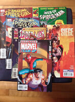 $200+ Collection of Spider-man Comics