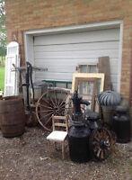 antique,vintage, rustic wedding items