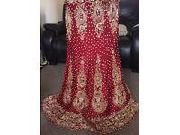 Lengha/ wedding dress/ bridal/ Pakistani Indian suit
