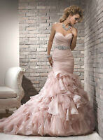 Maggie Sottero Divina Wedding Gown  - Ivory, Size 8