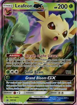 Leafeon GX SM146 Black Star Promo Holo Mint Pokemon Card