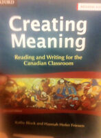 Creating Meaning Advanced: Reading and Writing for the Canadian