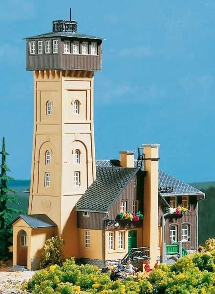 12226 Auhagen HO Kit of Pohlberg Mountain Inn - NEW *