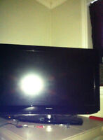 1080p 47 inch flat screen TV with JVC surround system