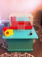 Small Animal Cage: Perfect home for a hamster/mouse/gerbil/etc.