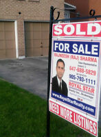JUST SOLD - Need More Listings Call RAJ 647-688-5829