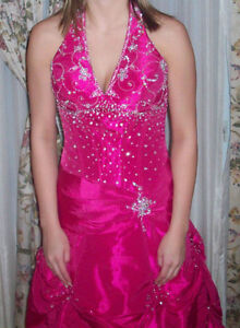 Magenta Gown by Mori Lee (NEVER WORN)