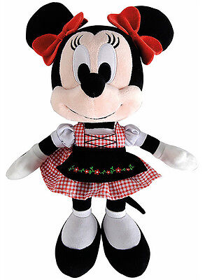 Simba Disney Dirndl Minnie Maus Plüschfigur 30 cm