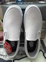 Perf Leather Slip-on (White)