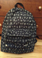 Music Pattern Backpack