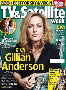 *** NEW UK !! GILLIAN ANDERSON inter/w THE FALL TV & Satellite May 2013 ***
