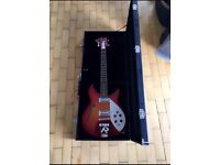 RICKENBACKER FIREGLO COPY BY AFQ GUITAR