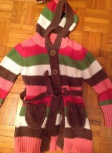 Girl sweater hoodies with belt