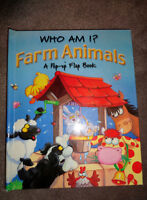 Who Am I - Farm Animals - Pop Up Flap Book