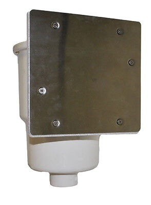 Stainless Steel Skimmer Winterizing Plate Fits Most Above Ground Pools 1090 Etc