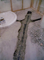 Plumbing Rough-Ins By A Highly Skilled Plumber