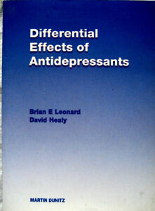 Differential Effects of Antidepressants London Ontario image 1