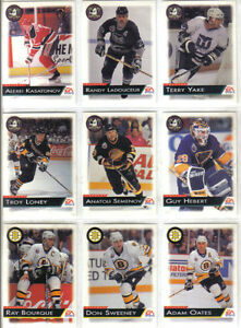 CARTES DE HOCKEY(SERIE DE 225 CARTES EA SPORTS 1994)