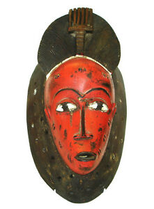 Masque Africain Ancestrale - Collectible African Mask Vintage